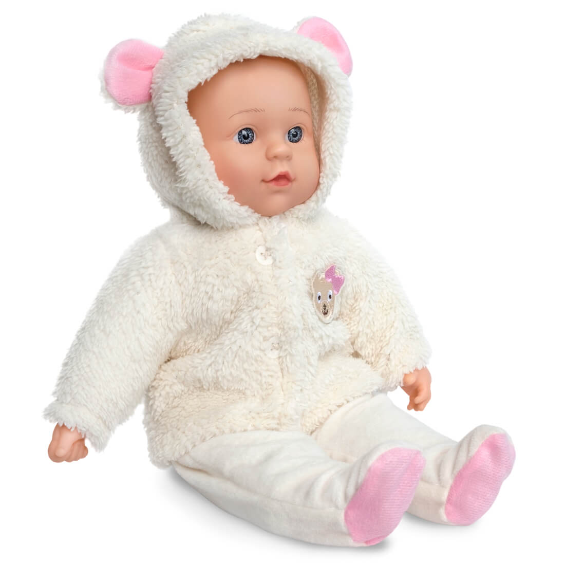 Emma Baby Doll - Triokid | Modern Doll Stroller and Toy